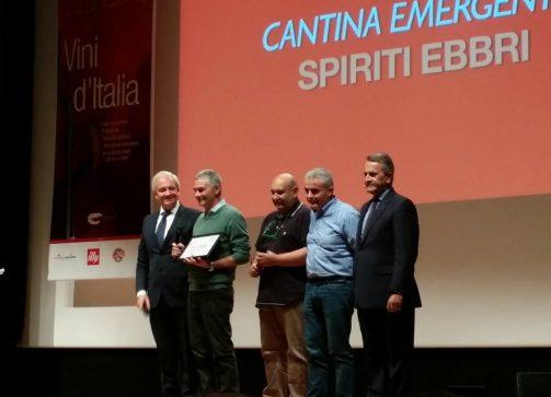 Spiriti Ebbri cantina emergente del Gambero Rosso (2018)
