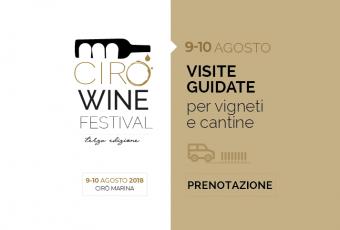 Cirò Wine Festival – Prenotazione visite guidate vigneti e cantine