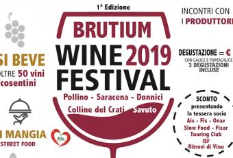 Brutium Wine Festival, a Cerisano va in scena il vino cosentino