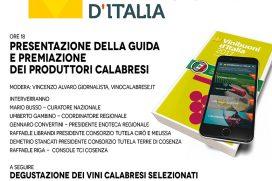 Barra dritta verso gli autoctoni. Vini buoni d'Italia presenta la guida in Calabria